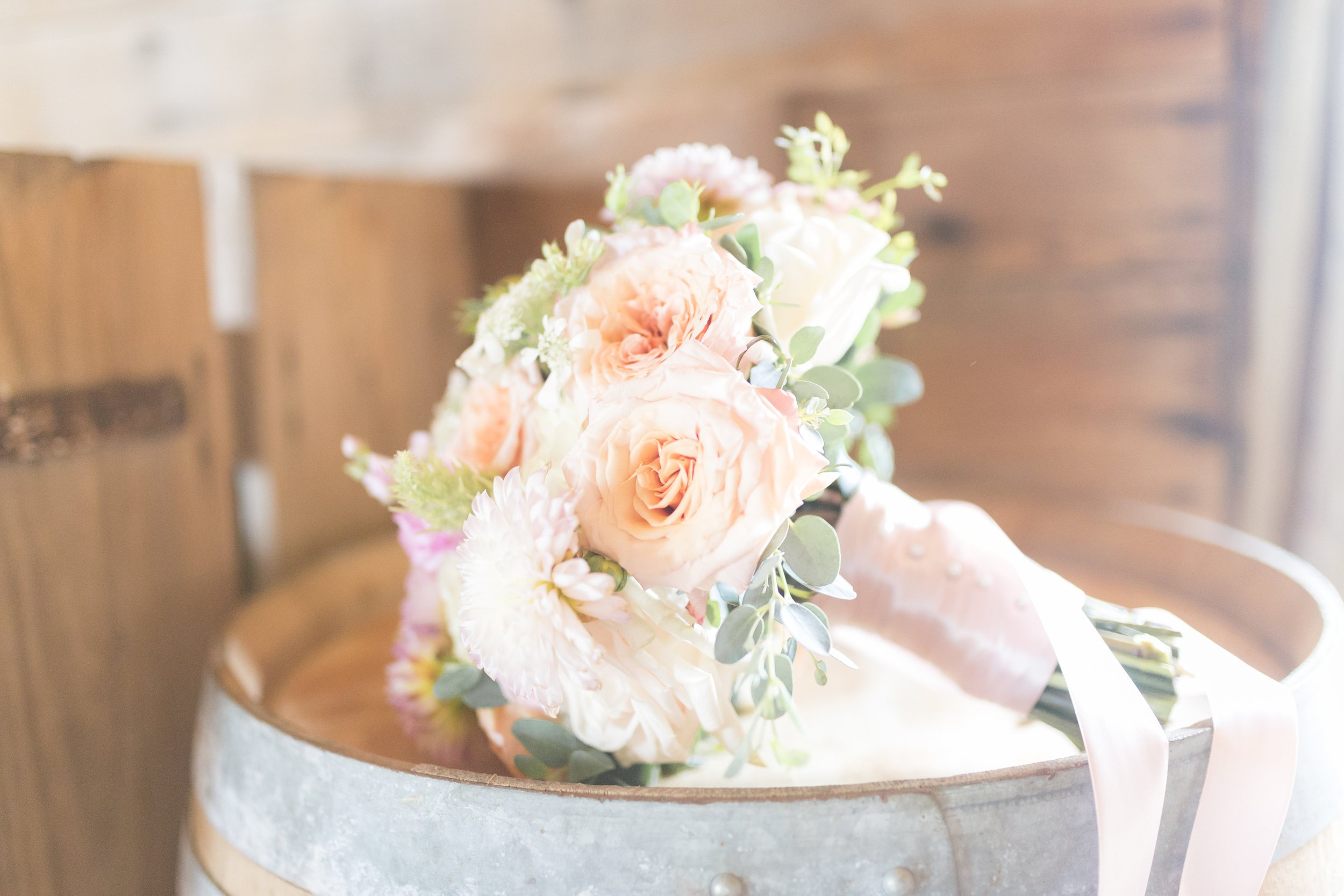Summer rustic elegant Chicago wedding styled shoot captured by Sarah DeMaranville Photography. See more summer wedding ideas at CHItheeWED.com!