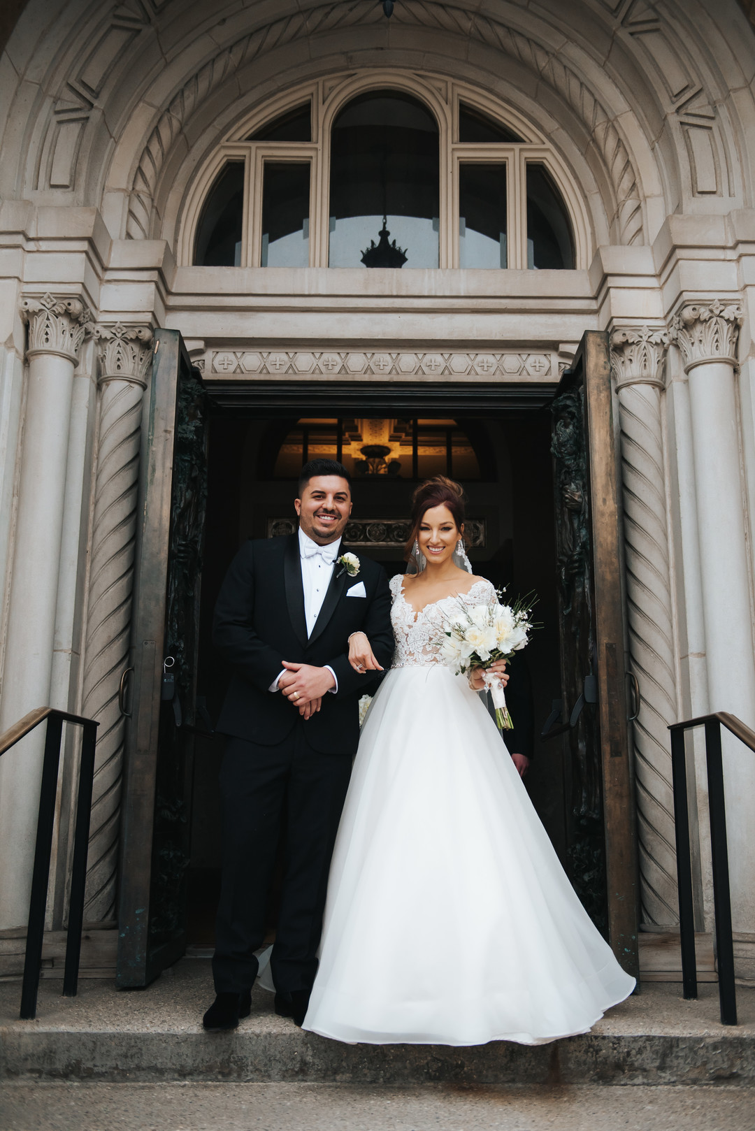 Historic Medinah Country Club wedding captured by Windy City Production. For more Chicago wedding ideas, visit CHItheeWED.com!