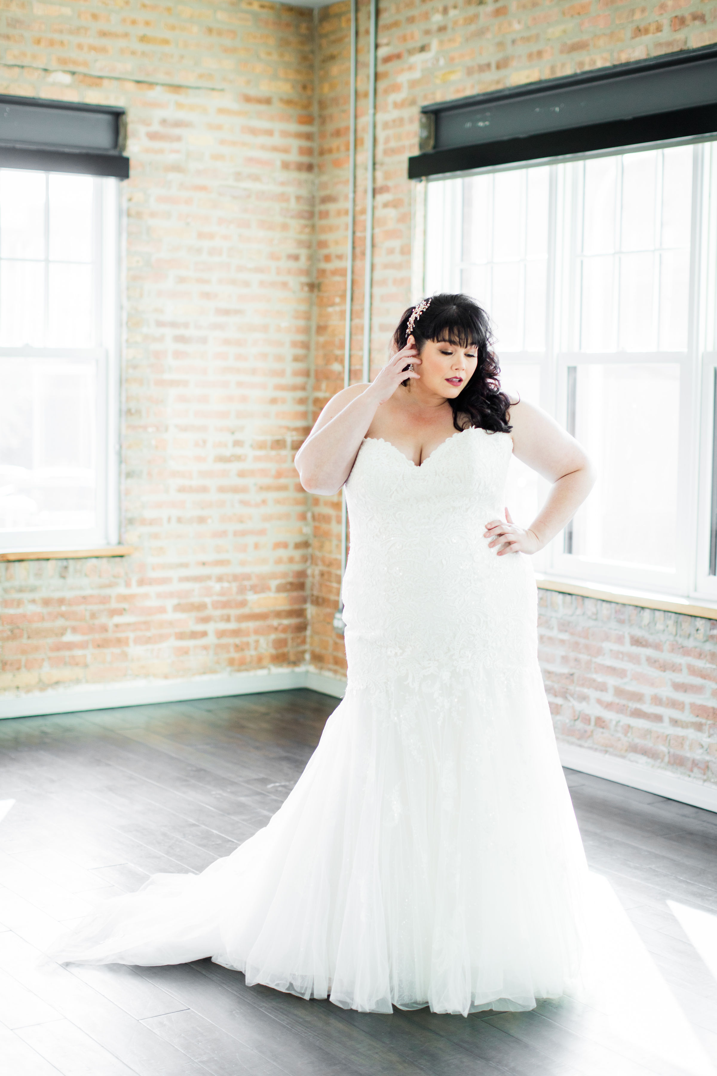 Chicago industrial wedding inspiration on CHI thee WED. See more wedding ideas at CHItheeWED.com!