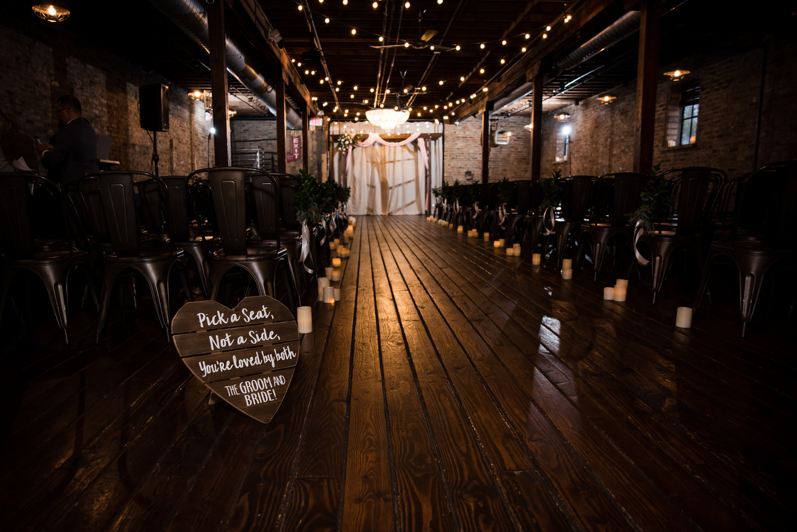 Rustic chic wedding captured by Inspired Eye Photography. Find more wedding inspiration at CHItheeWED.com!
