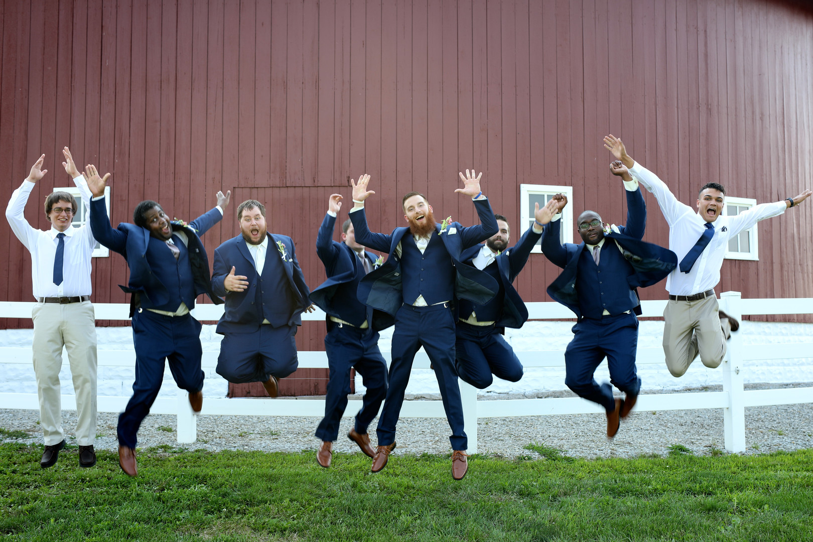 Vintage barn wedding in Silver Lake, IN captured by Messy Photography. See more barn wedding ideas at CHItheeWED.com!