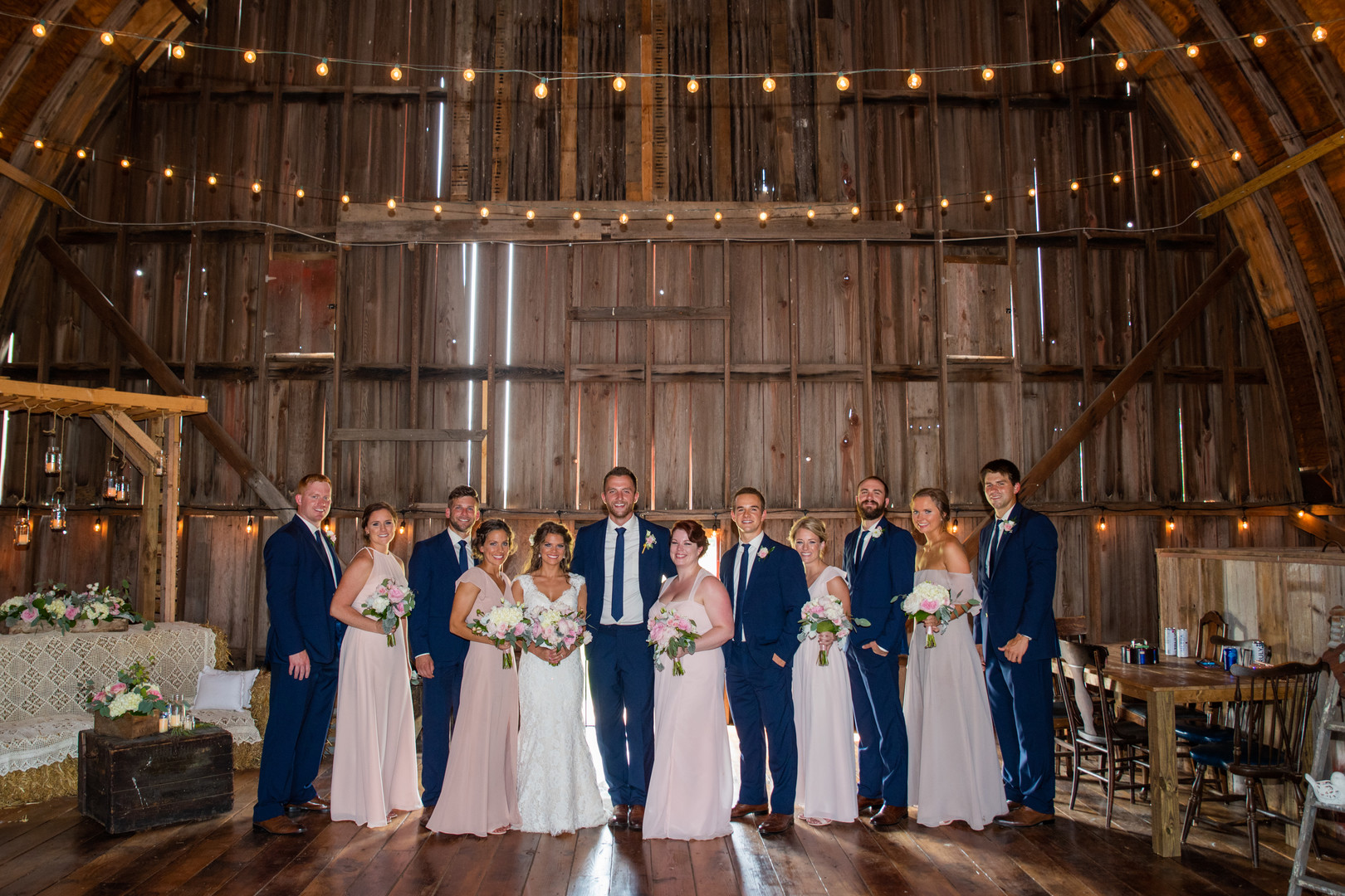 Barn wedding in Rock Falls, IL captured by Rick Jennisch Photography. Find more wedding inspiration at CHItheeWED.com!