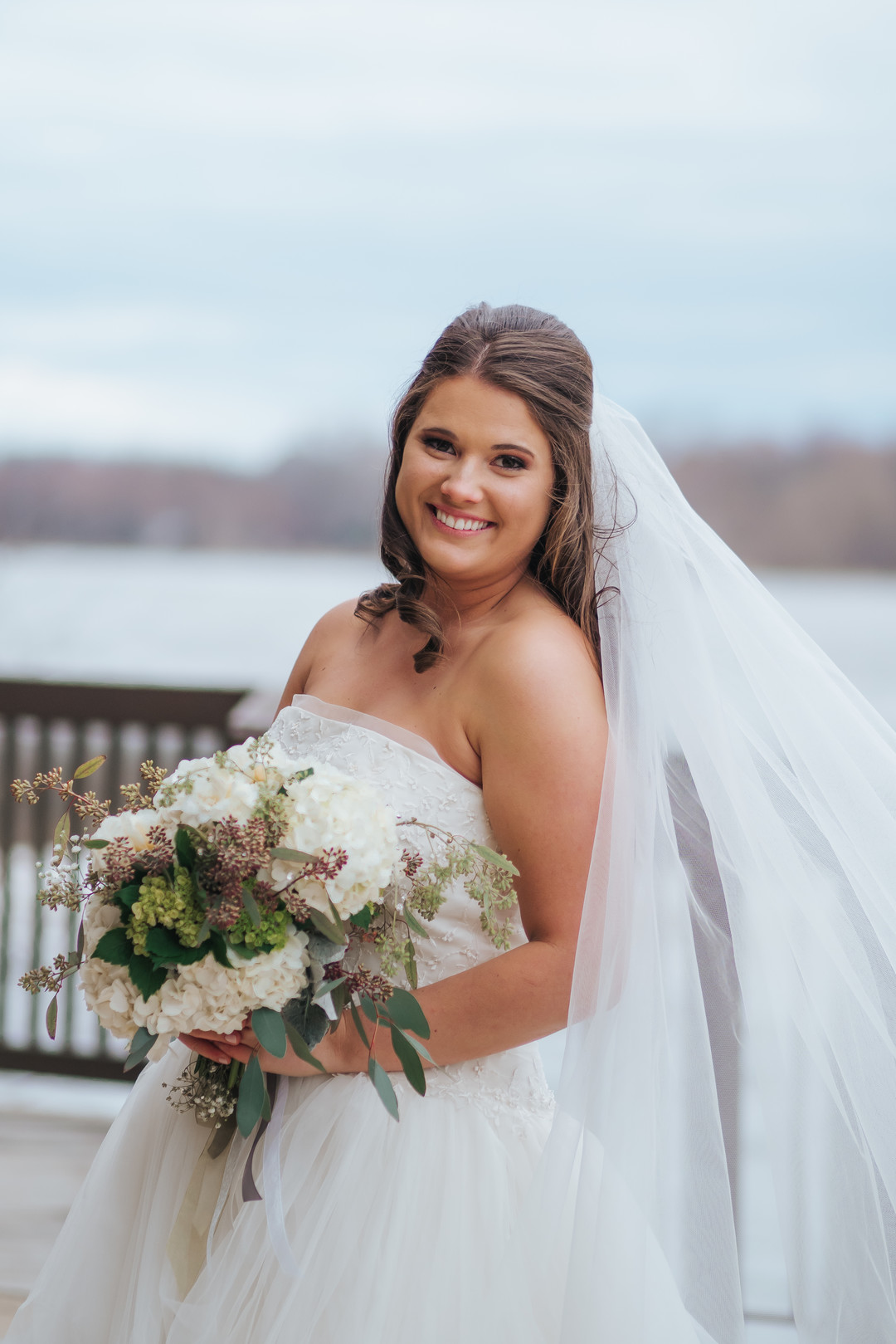 Bridal portrait: Beautiful Illinois wedding at Riverside Receptions captured by Windy City Production. See more wedding ideas at CHItheeWED.com!