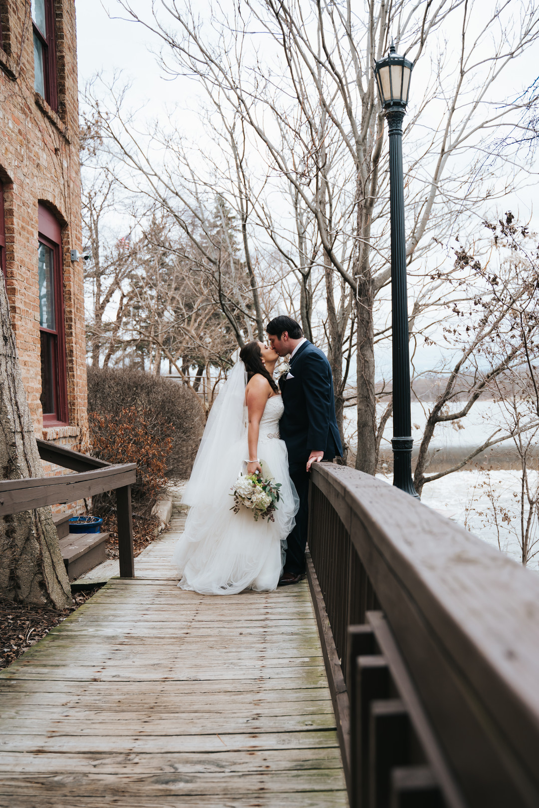 Outdoor wedding photos: Beautiful Illinois wedding at Riverside Receptions captured by Windy City Production. See more wedding ideas at CHItheeWED.com!
