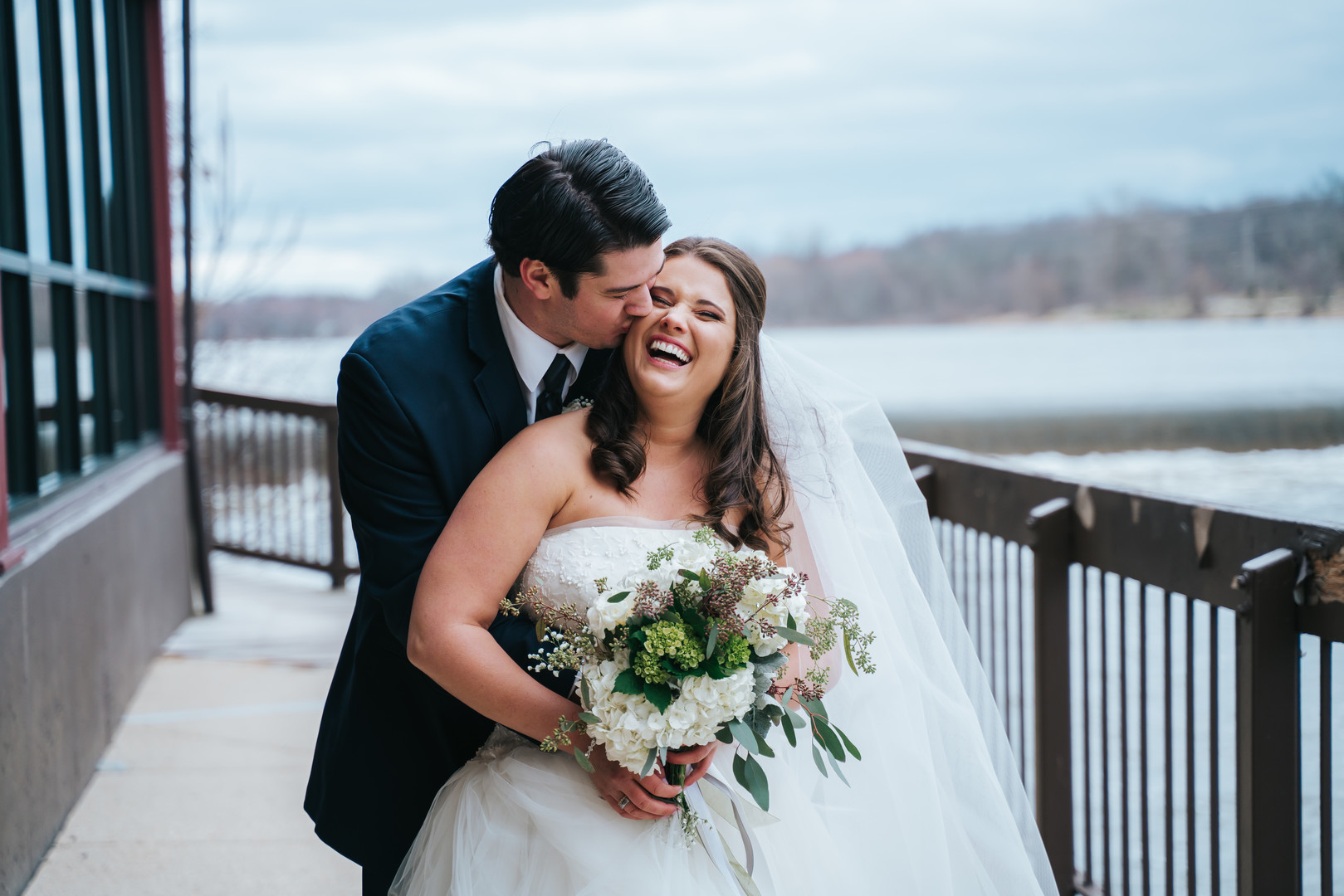 Beautiful Illinois wedding at Riverside Receptions captured by Windy City Production. See more wedding ideas at CHItheeWED.com!