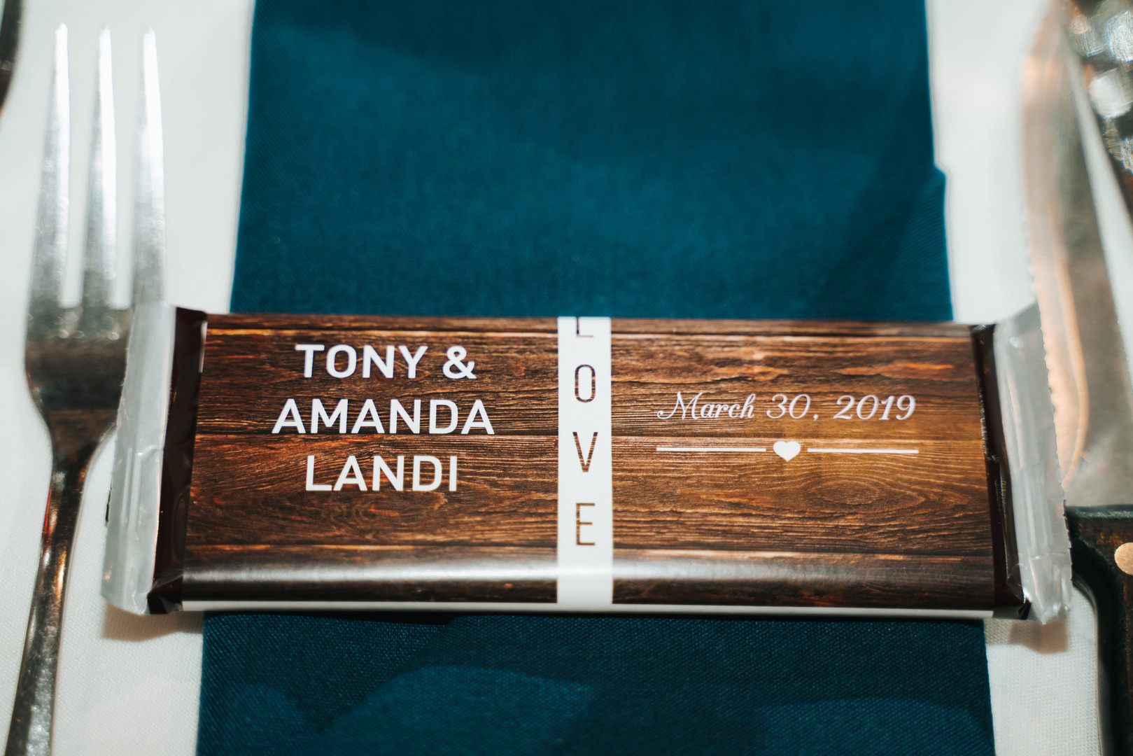 Wedding favor: Beautiful Illinois wedding at Riverside Receptions captured by Windy City Production. See more wedding ideas at CHItheeWED.com!