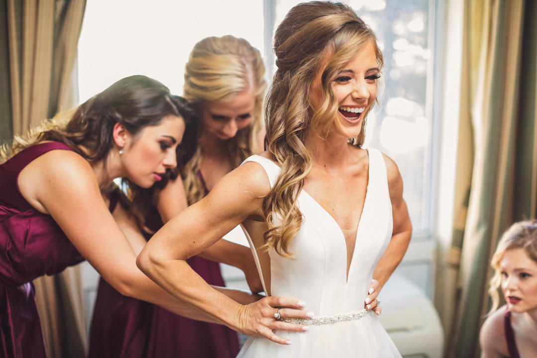 Elegant country club wedding captured by Henington Photography. See more elegant wedding ideas at CHItheeWED.com!