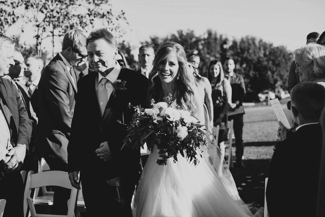 Wedding ceremony photography: Elegant country club wedding captured by Henington Photography. See more elegant wedding ideas at CHItheeWED.com!