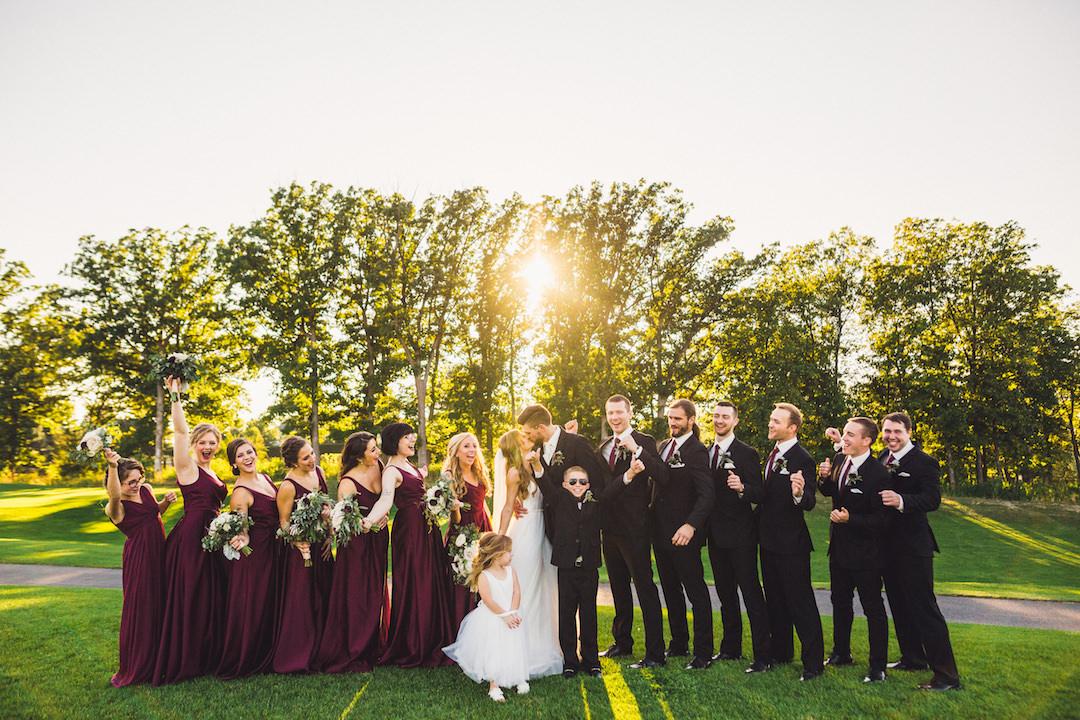 Wedding photo ideas: Elegant country club wedding captured by Henington Photography. See more elegant wedding ideas at CHItheeWED.com!