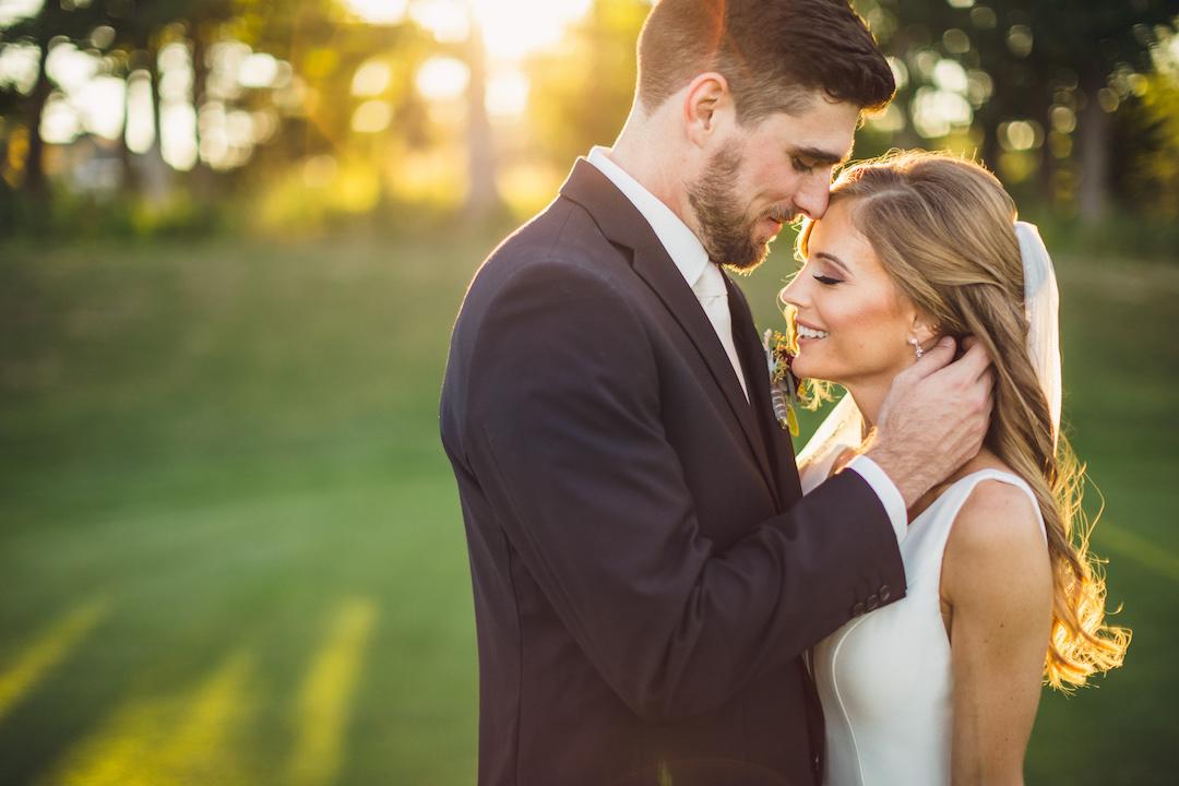 Fall wedding photos: Elegant country club wedding captured by Henington Photography. See more elegant wedding ideas at CHItheeWED.com!