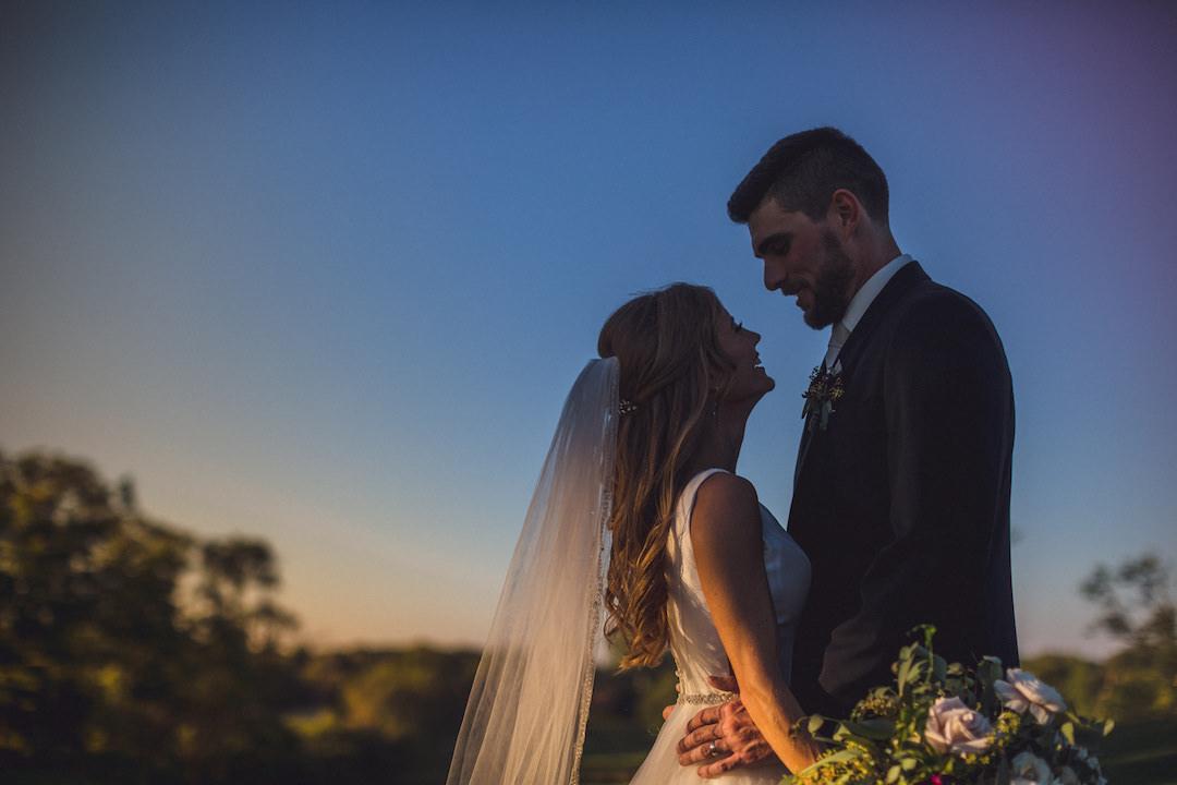 Fall wedding photography: Elegant country club wedding captured by Henington Photography. See more elegant wedding ideas at CHItheeWED.com!