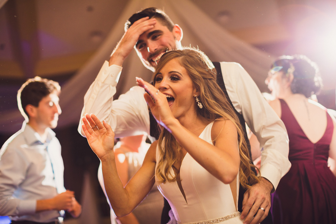 Bride and groom dancing: Elegant country club wedding captured by Henington Photography. See more elegant wedding ideas at CHItheeWED.com!