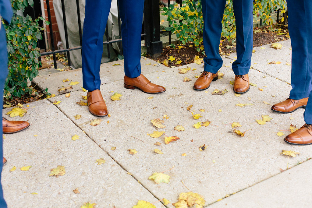 Fall Chicago wedding at Fig & Olive captured by Hello Love Photography. See more fall wedding ideas at CHItheeWED.com!