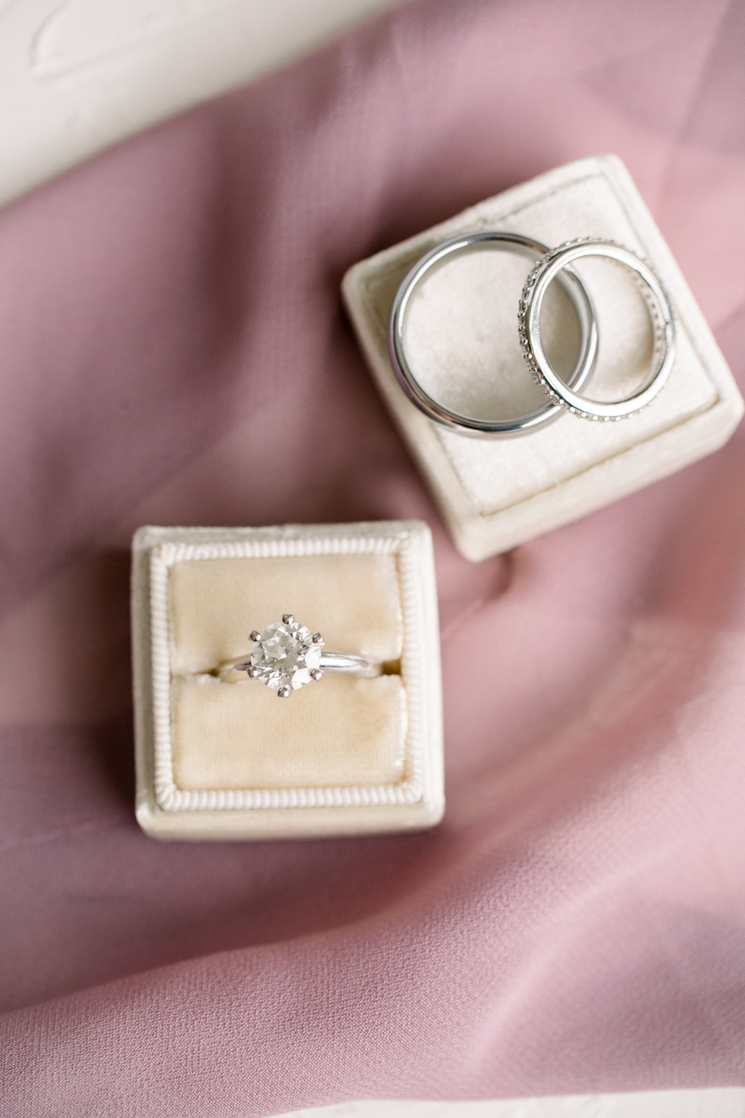 Wedding and engagement rings: Spring wedding inspiration captured by Nicole Morisco Photography. Find more spring wedding ideas at CHItheeWED.com!