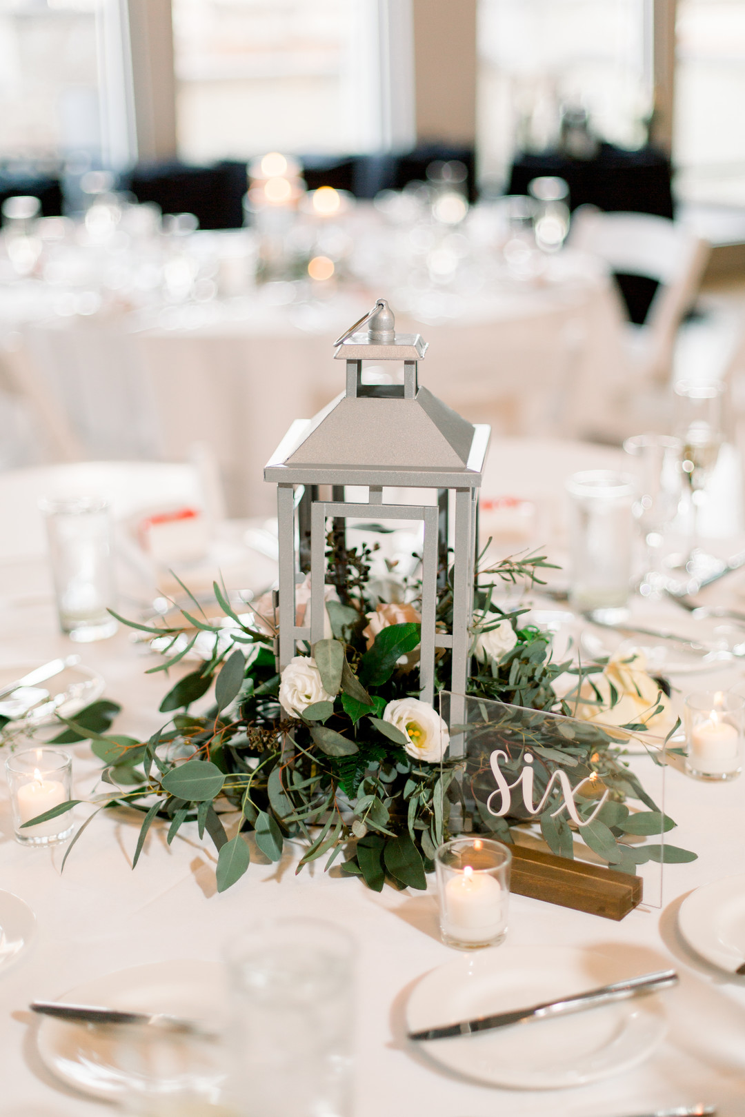Lantern wedding centerpieces: Spring wedding inspiration captured by Nicole Morisco Photography. Find more spring wedding ideas at CHItheeWED.com!