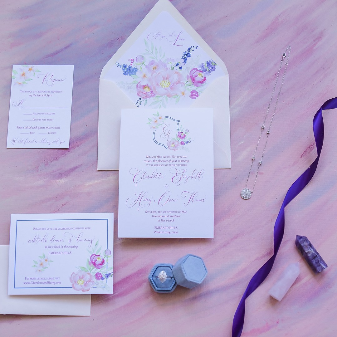 Boho wedding stationery: Bohemian wedding inspiration captured by Truly Sublime Photography. See more boho wedding ideas on CHItheeWED.com!