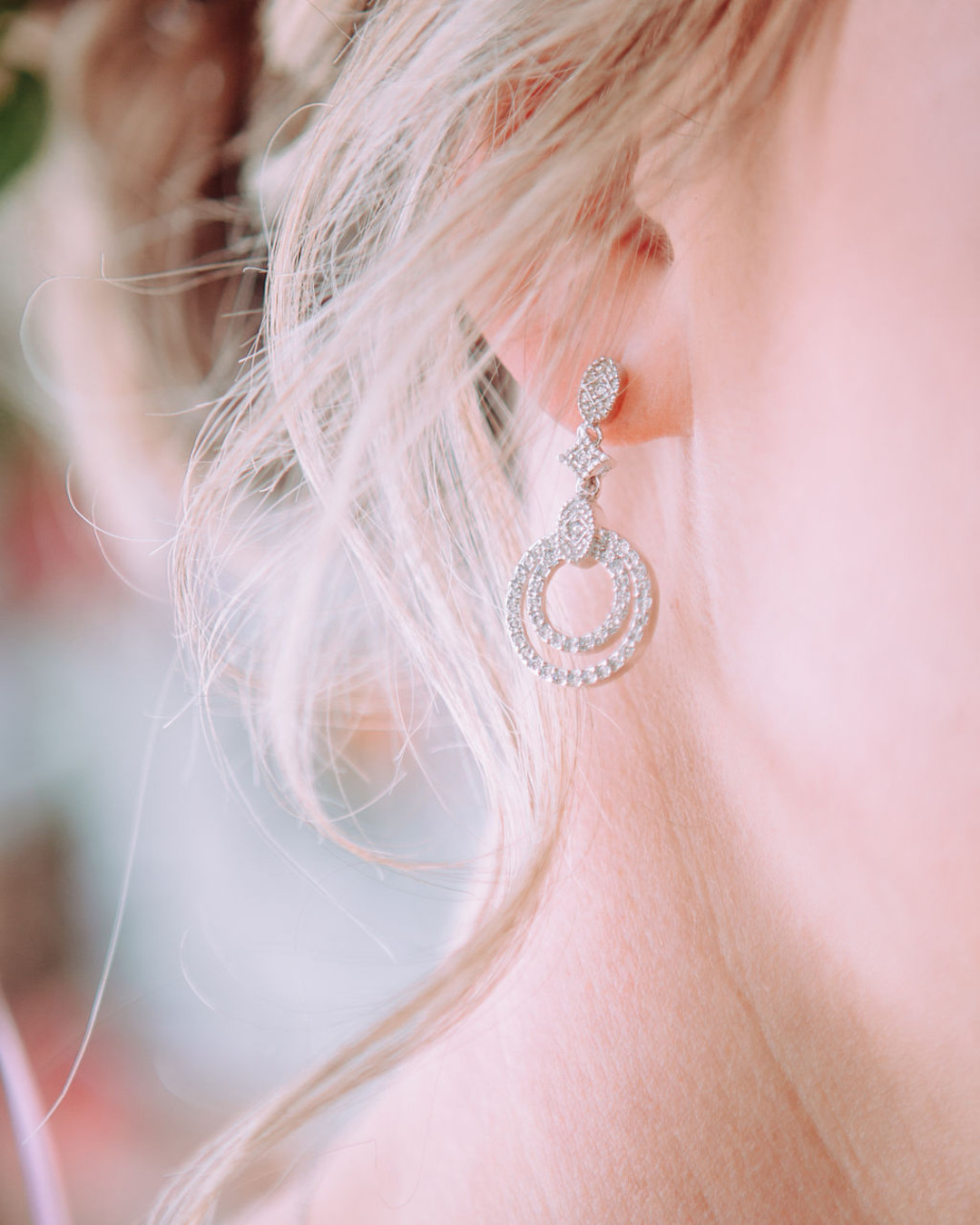 Wedding earrings: Bohemian wedding inspiration captured by Truly Sublime Photography. See more boho wedding ideas on CHItheeWED.com!
