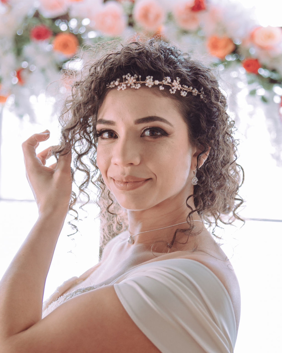 Bridal hair and makeup: Bohemian wedding inspiration captured by Truly Sublime Photography. See more boho wedding ideas on CHItheeWED.com!