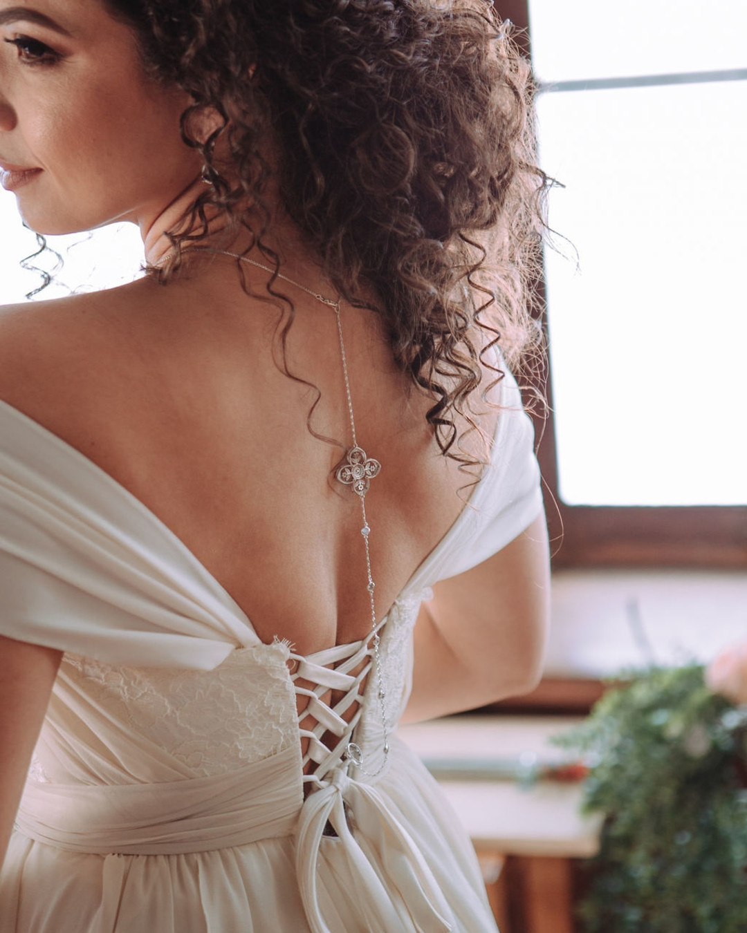 Wedding dress details: Bohemian wedding inspiration captured by Truly Sublime Photography. See more boho wedding ideas on CHItheeWED.com!
