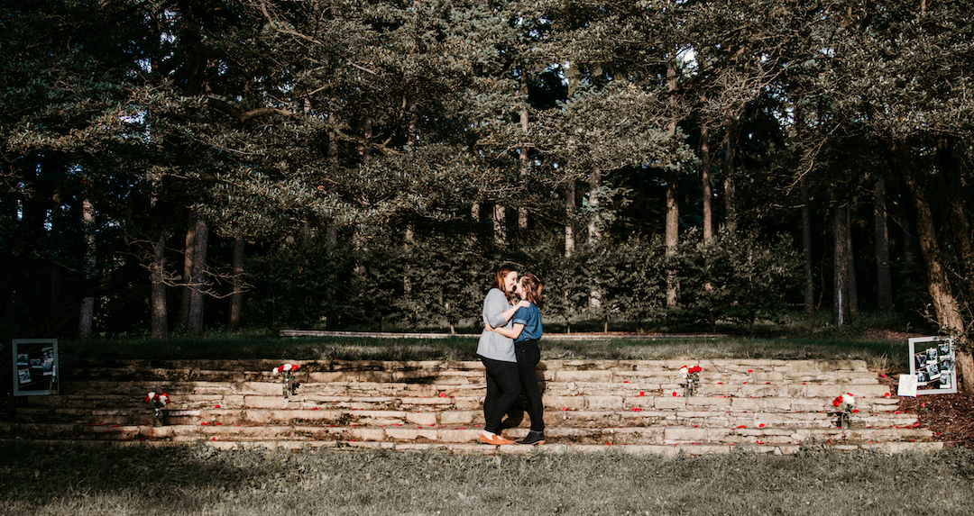 Sydney & Angela's Surprise Proposal captured by Victoria Saint Martin Photography. See more wedding proposal ideas featured on CHItheeWED.com!
