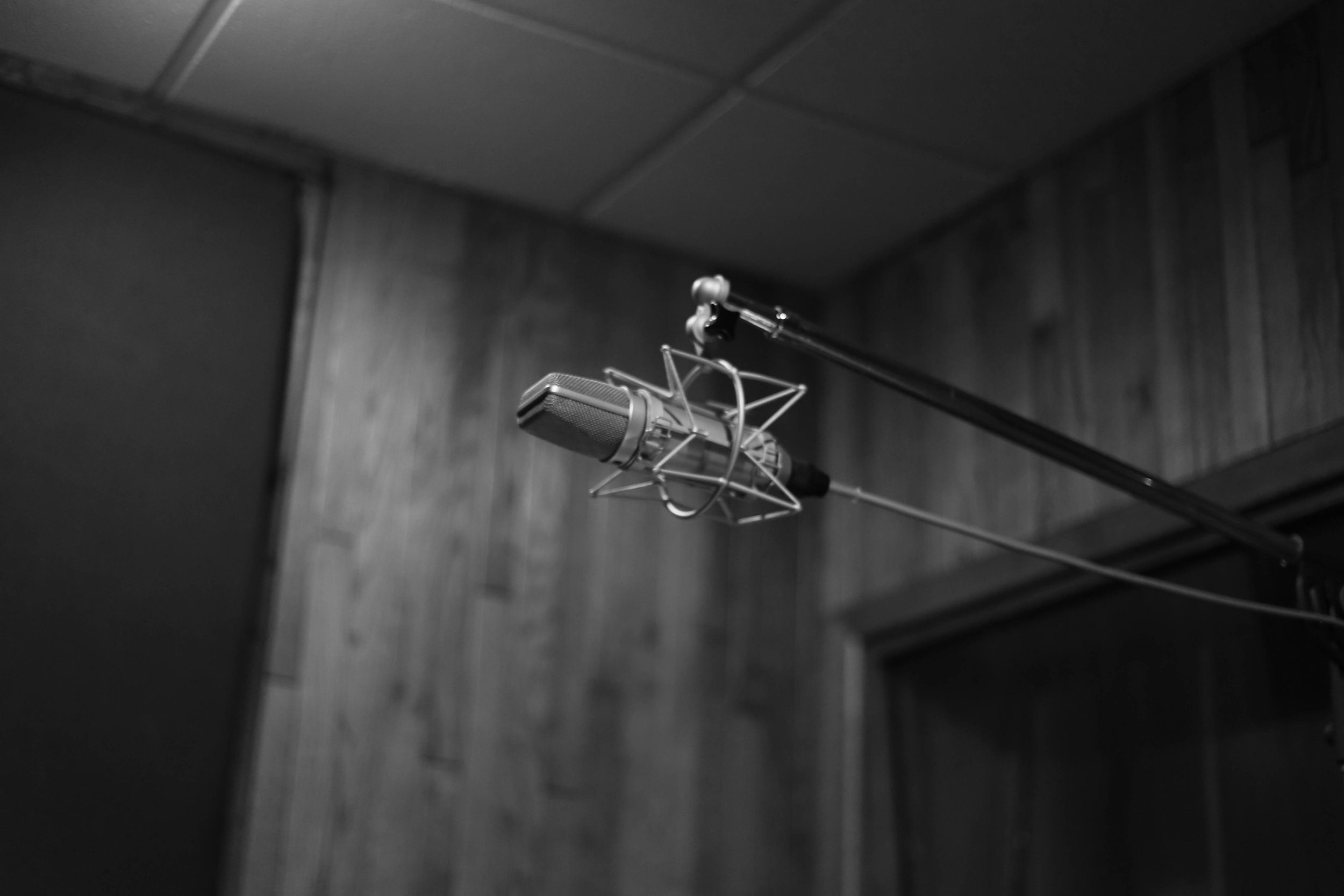 Nashville recording studio, 2018.