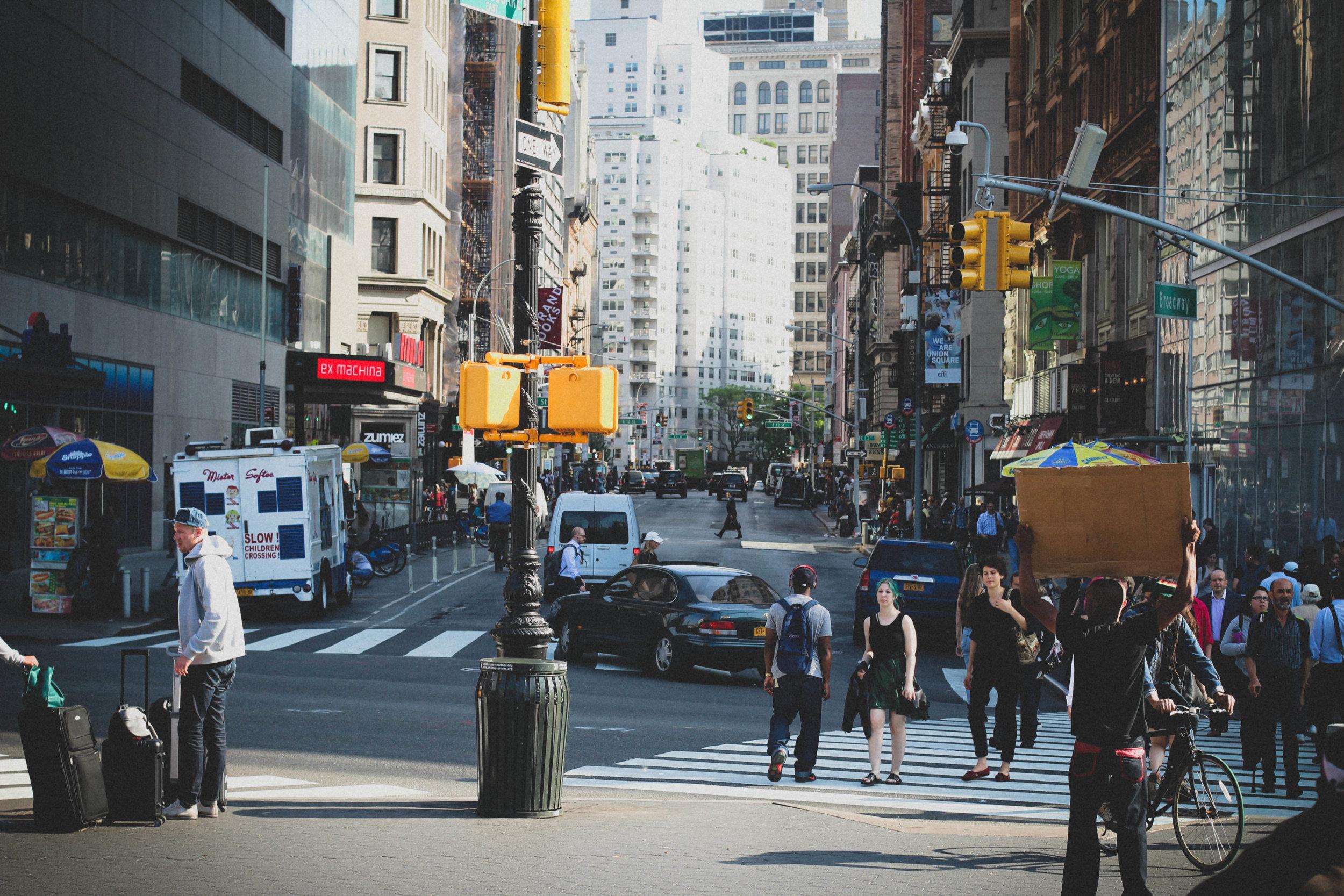 NYC, 2015.