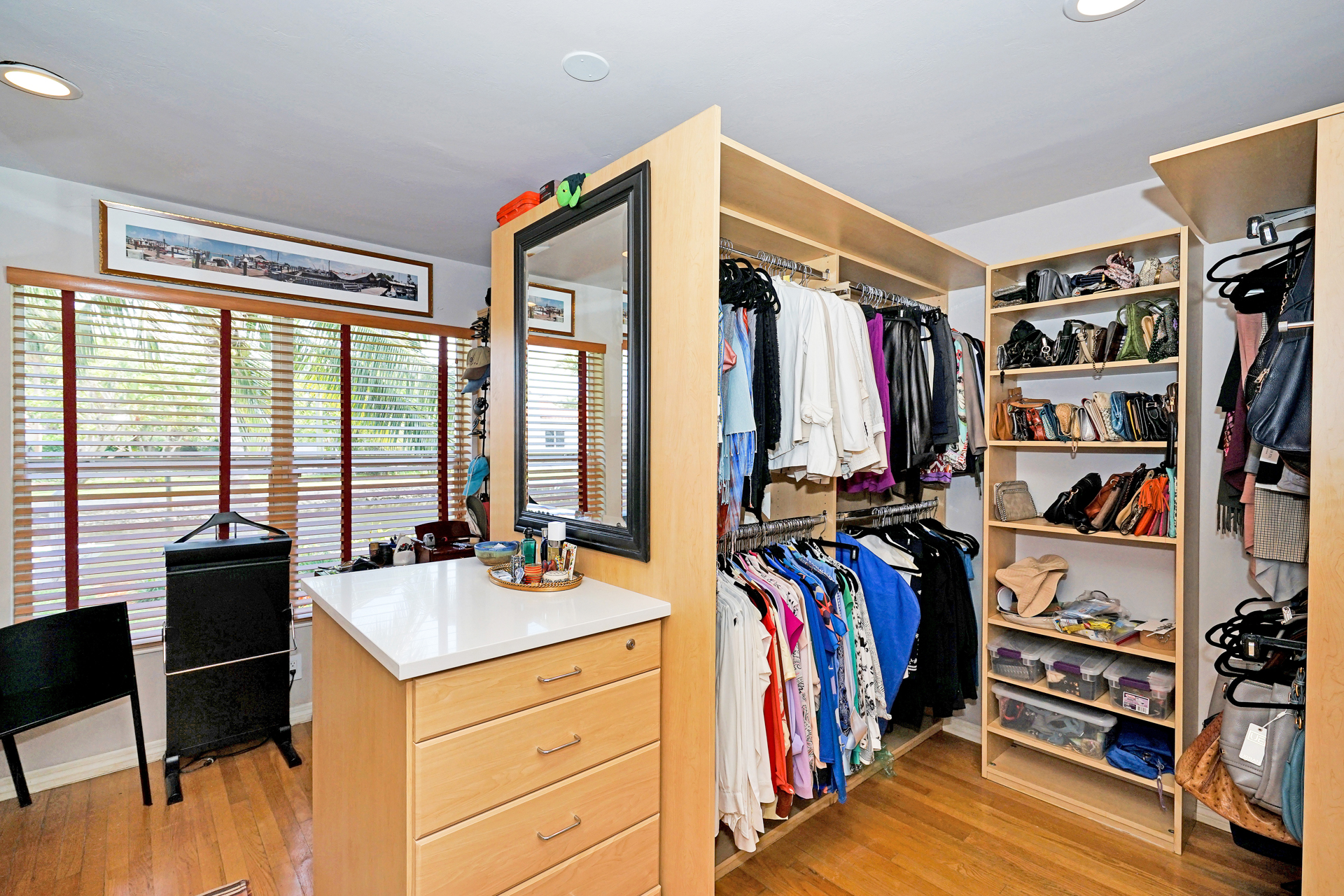 Bedroom as closet.JPG