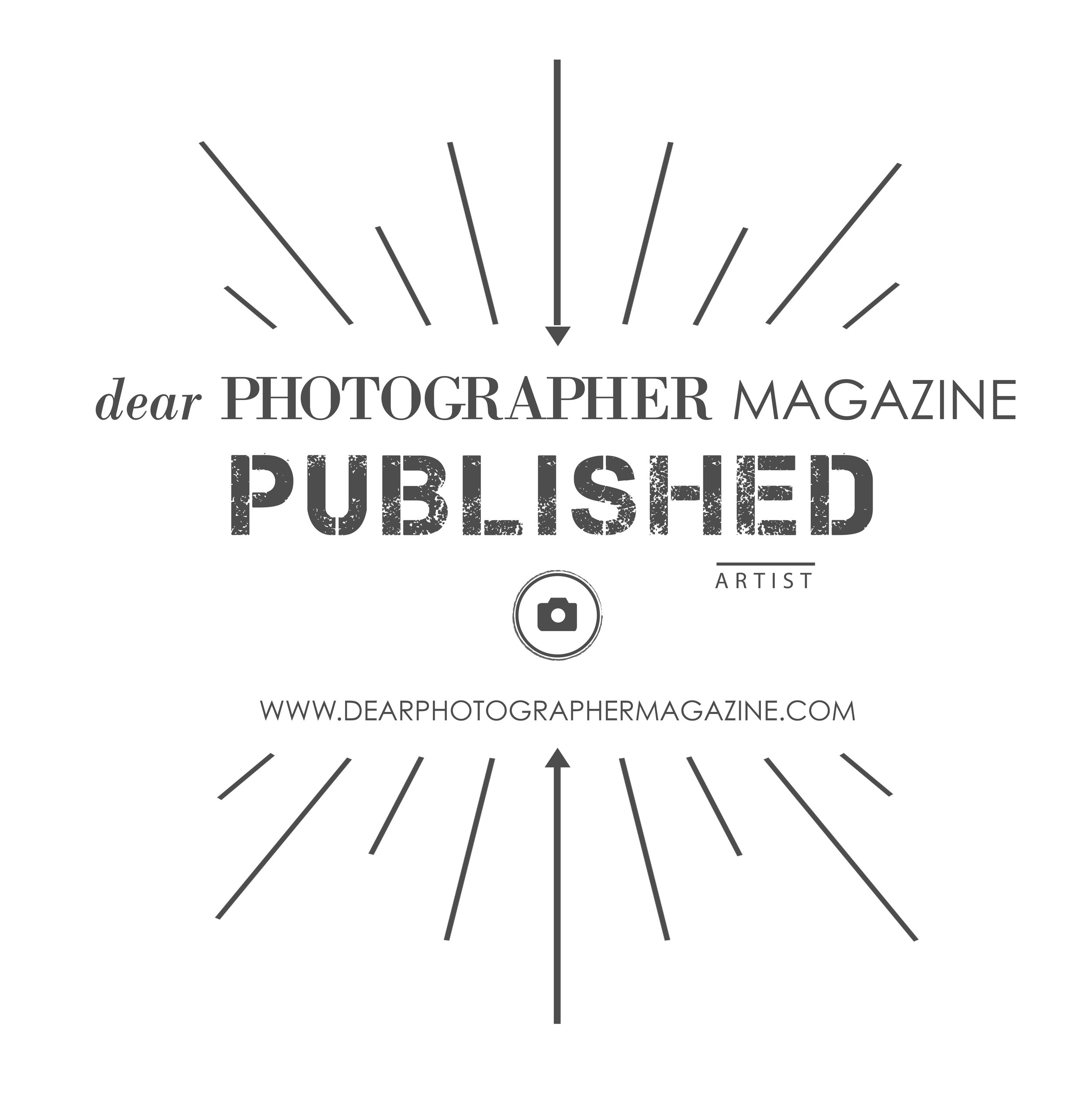 Published in 'dear PHOTOGRAPHER' Magazine