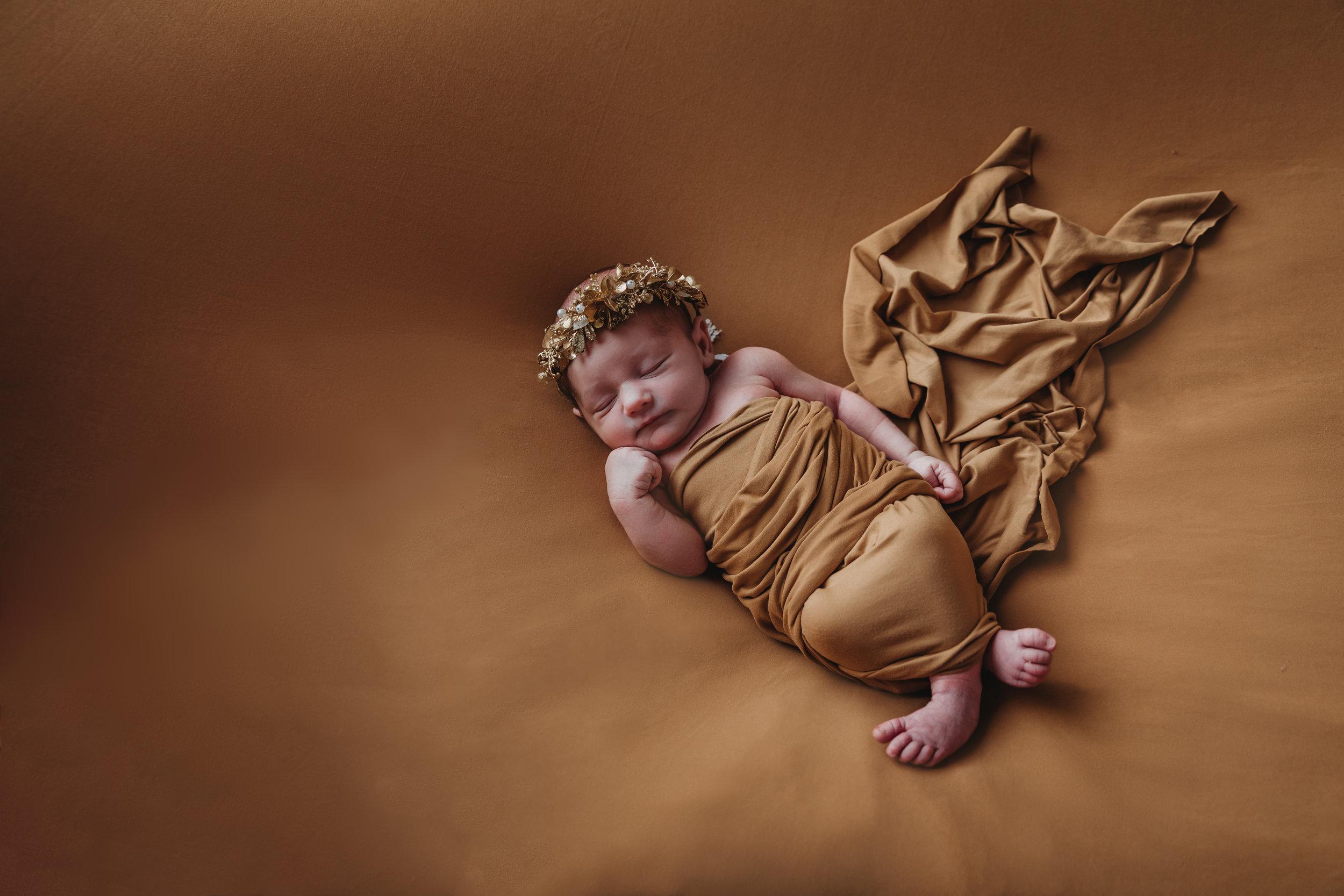 newborn-photography-austin-minnesota-studio-albert-lea-minnesota-gold-modern
