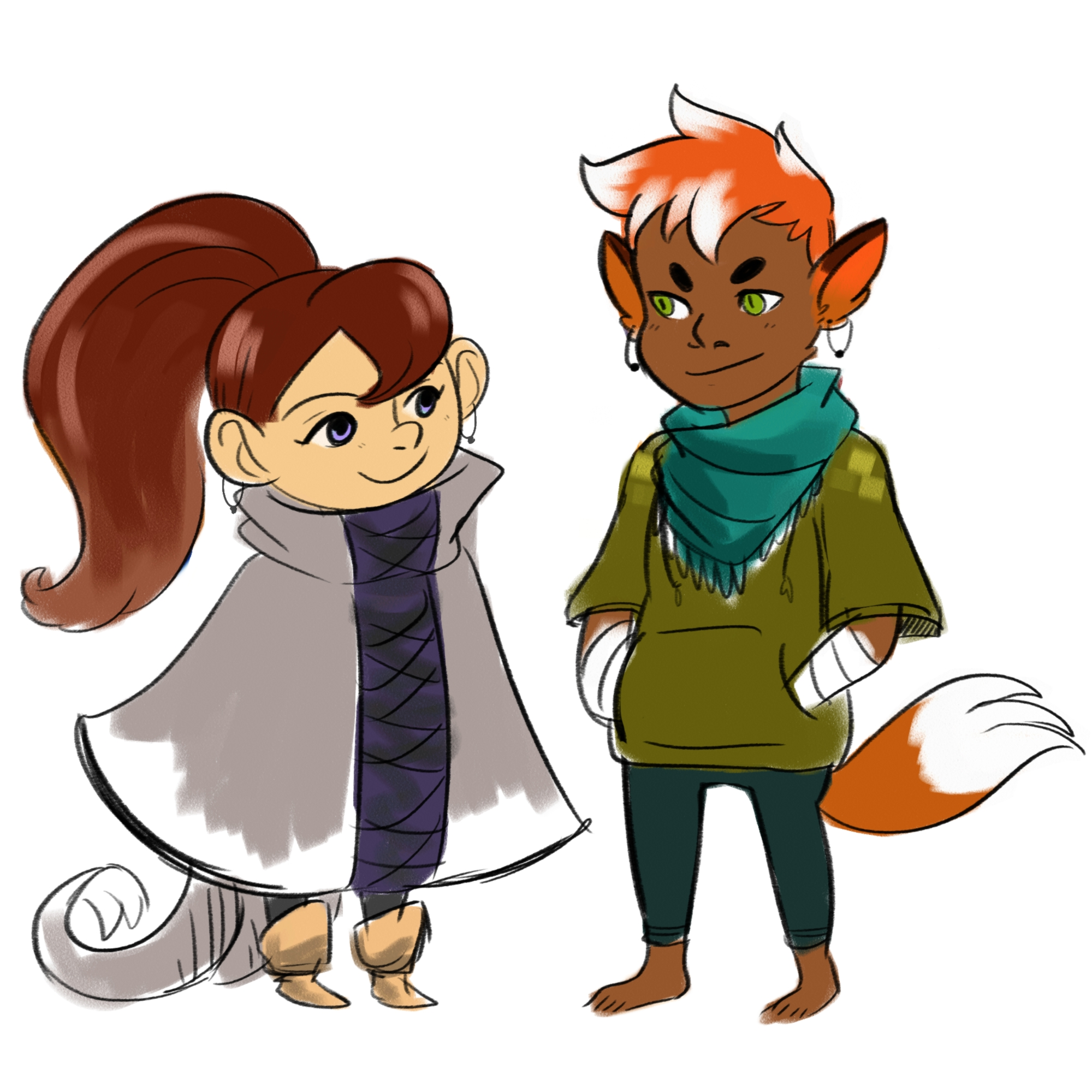 Remy and Kai: Color Designs