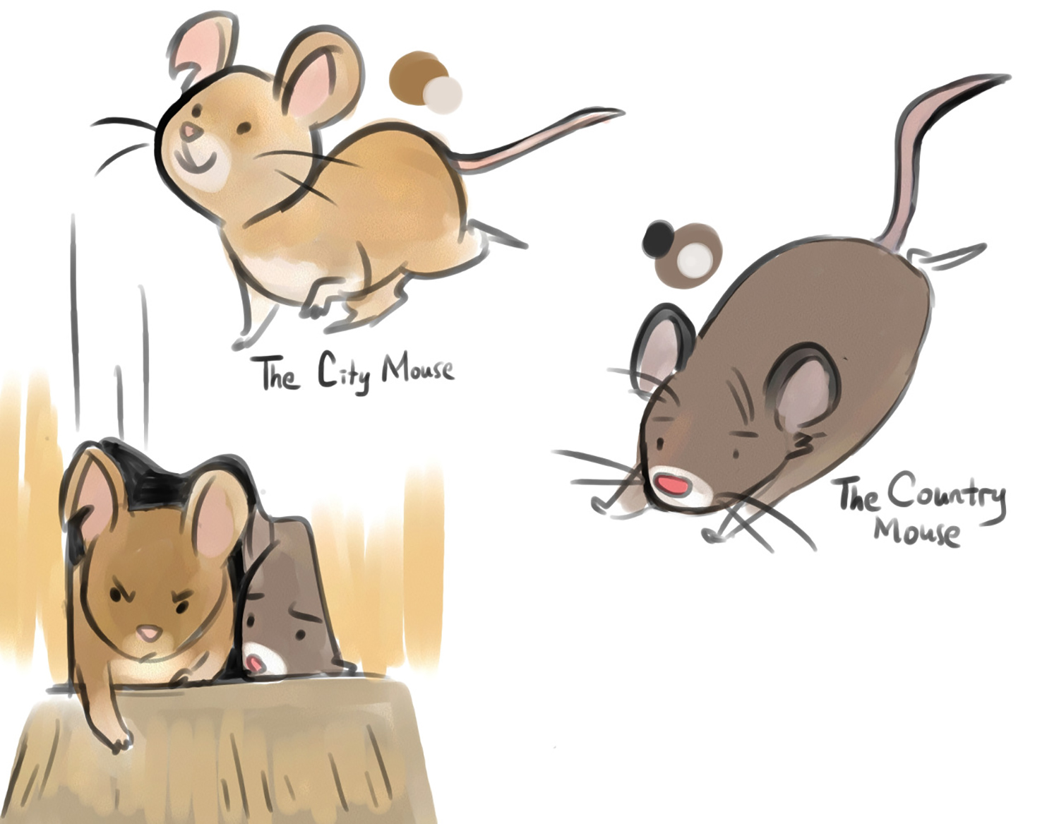 Country Mouse and City Mouse 01