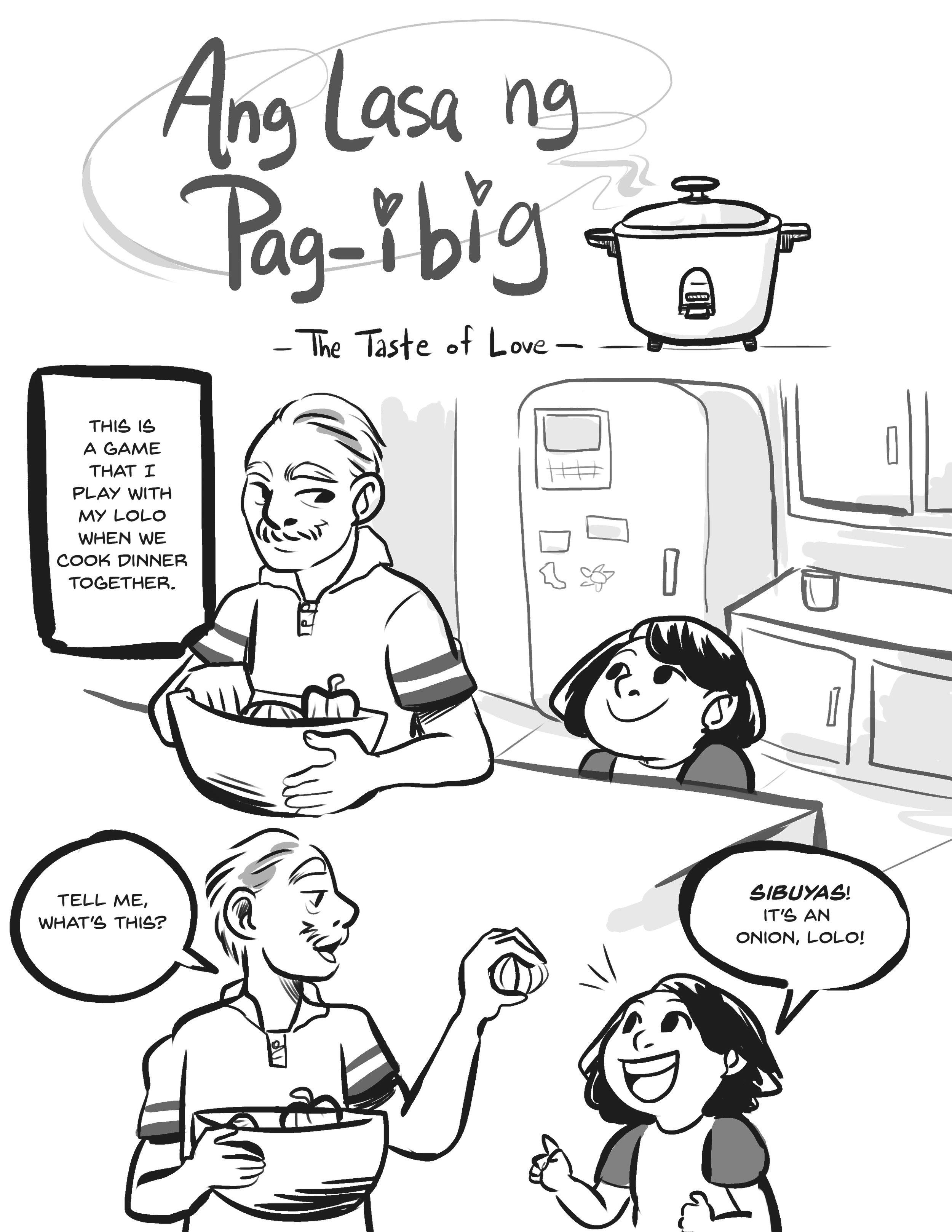 Ang Lasa ng Pag-ibig (Page 01)