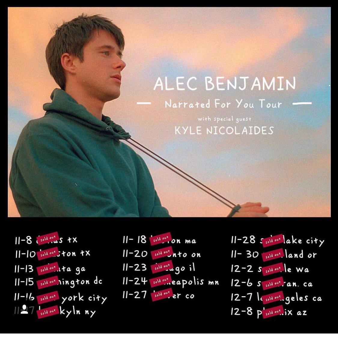 Alec Benjamin - Kyle Nicolaides tour pic.JPG