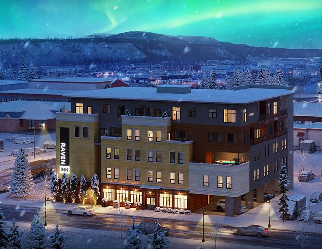 Revealing a sneak peek of our final design. We look forward to welcoming you this winter to the first new hotel in decades to Whitehorse #travelyukon #yukon #hotel #boutique #whitehorse