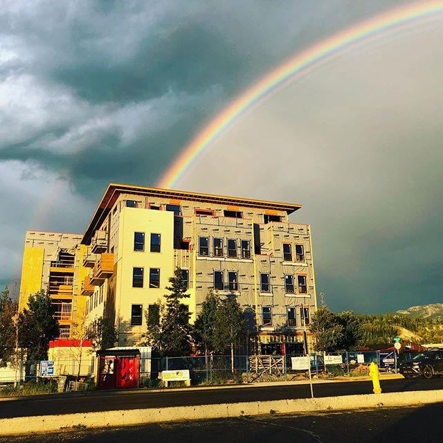 🌈 Does a double rainbow bring good luck for our upcoming opening? 🌈
