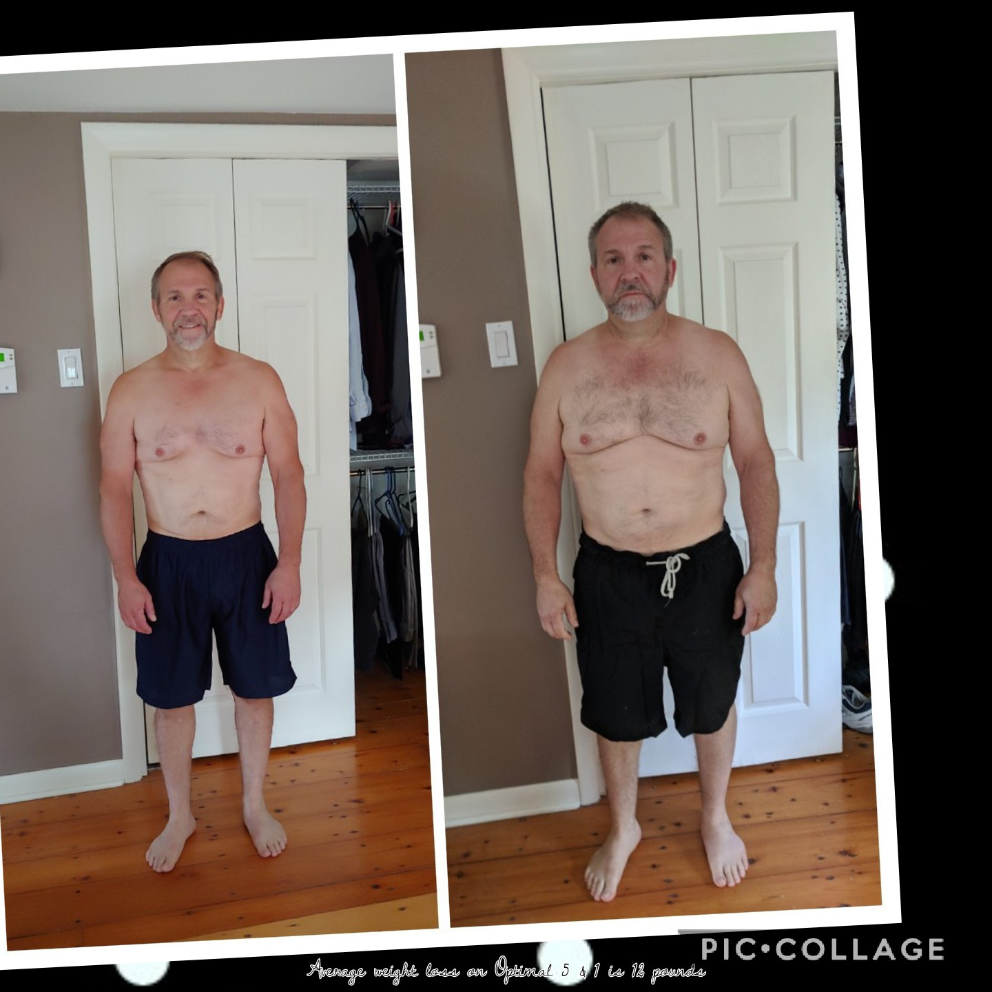 Joe CAME TO ME LOOKING TO GET FIT. AFTER A FEW MONTHS OF TRAINING, HE IS STRONGER AND FEELS GREAT! -