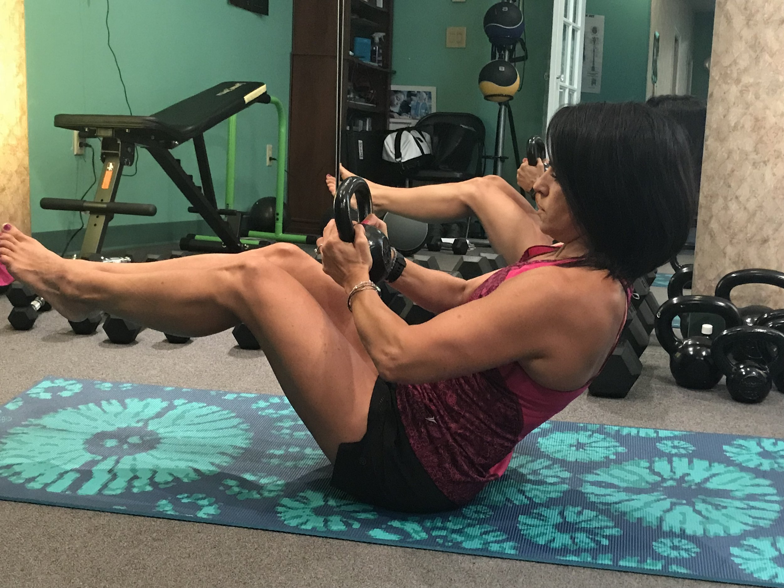 LOSE WEIGHT AND TONE  (Diane, Age 49)
