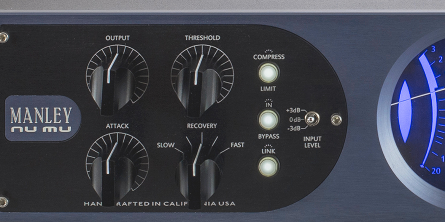 """DYNAMICS:  """"Pour cream over your mix"""" with the VARIABLE MU compressor, or get those tracks """"one louder"""" with a SLAM! brick-wall limiter that works."""