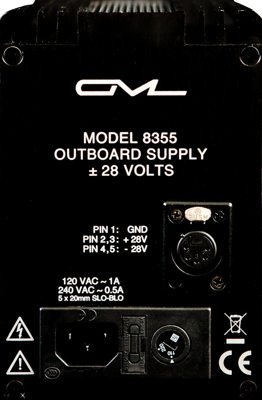 POWER SUPPLIES:  Regulated, filtered power supplies for 8200 /8300 /9500 modules.