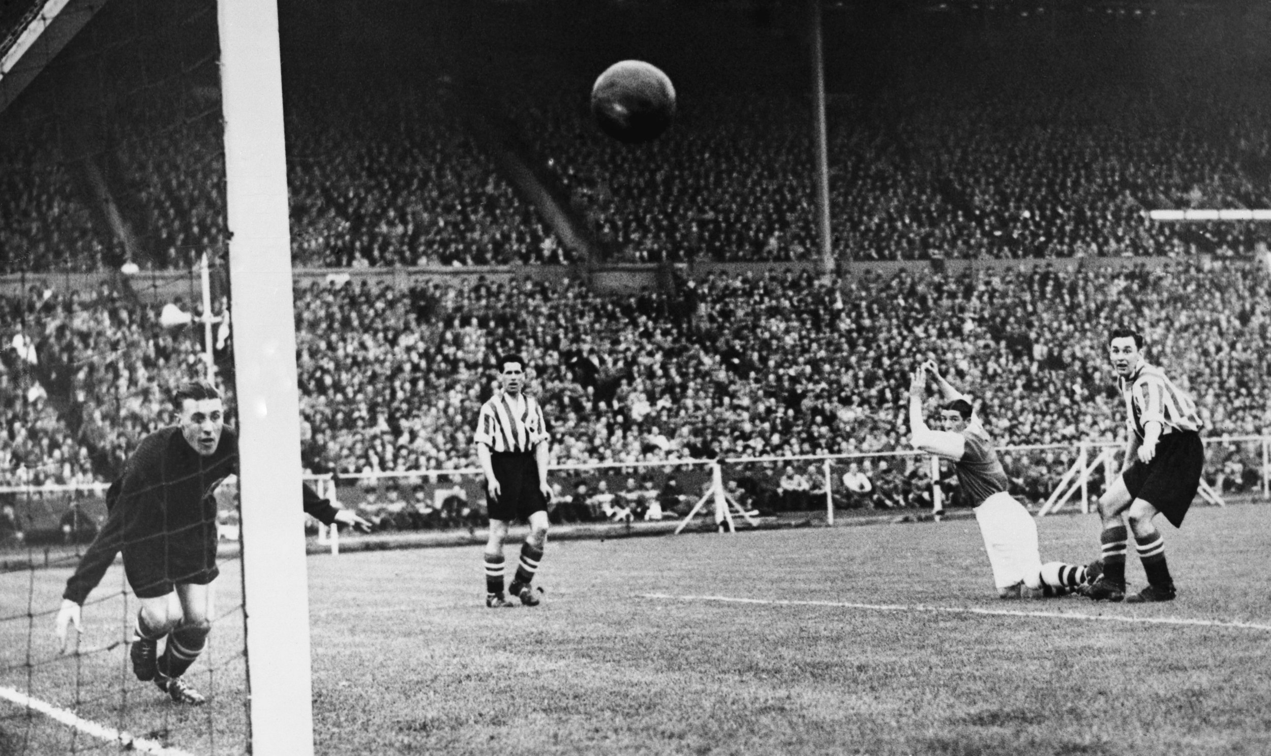 The 1936 FA Cup Final (in which Arsenal defeated Sheffield United one-nil.)