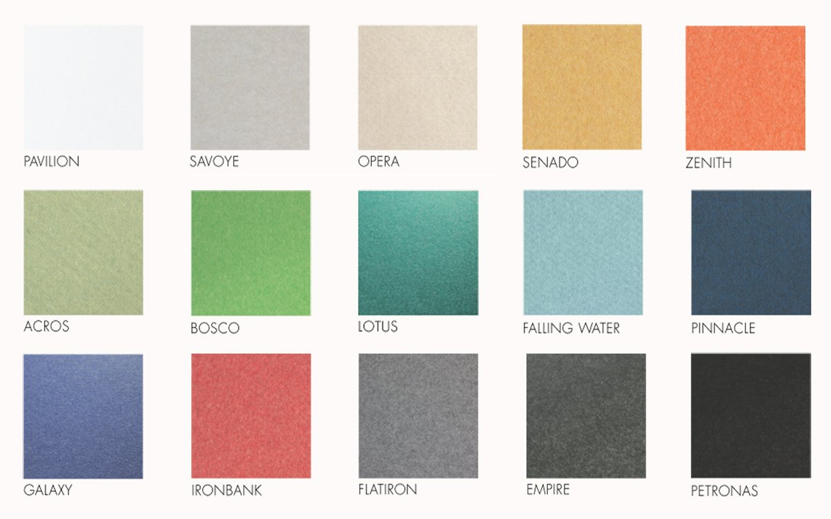 Colour options - Some colours are made to order (not stocked)
