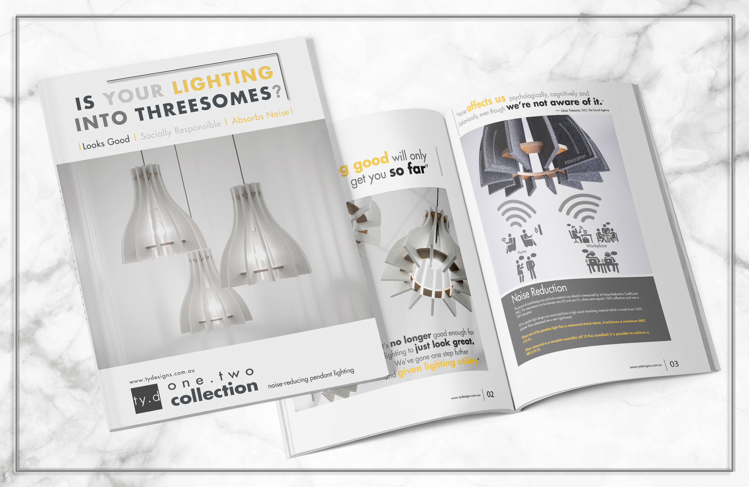one.two collection - Look book, specification sheet, technical details and more..