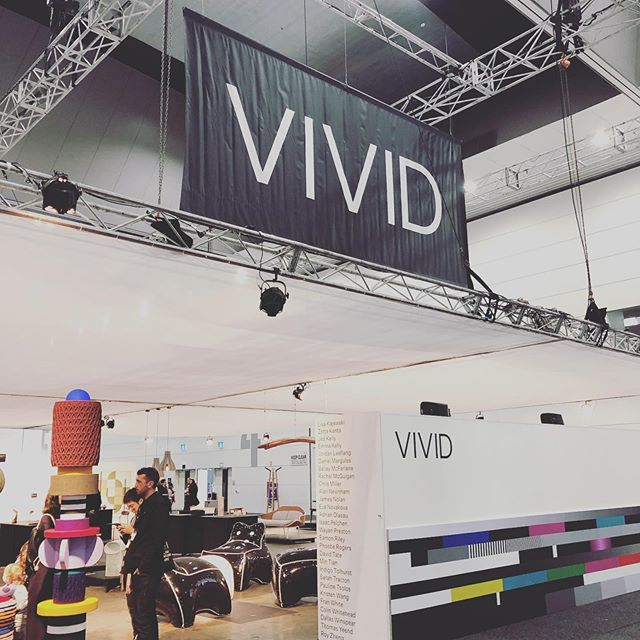 Day 1 - Going strong. The curators have done a brilliant job bringing the Vivid stand together! #VIVIDDesignComp2019 #VIVIDdesigncomp #decordesignshow