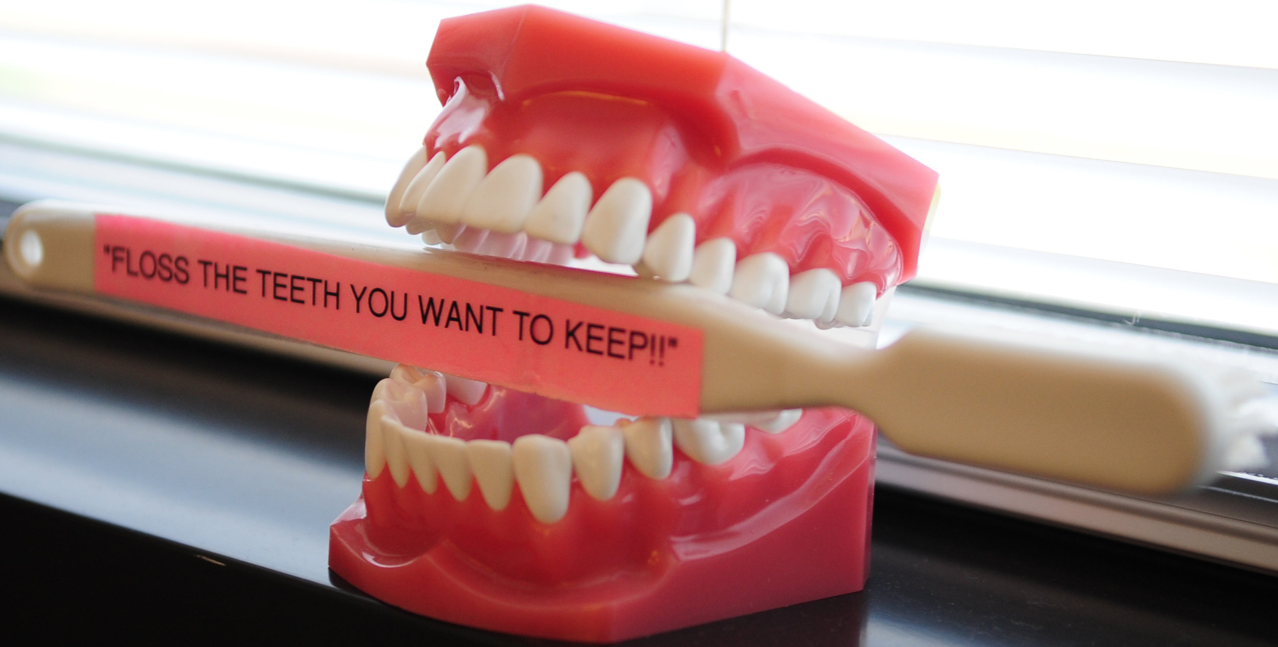 Flossing is an essential part of your oral care routine and NEVER an optional extra