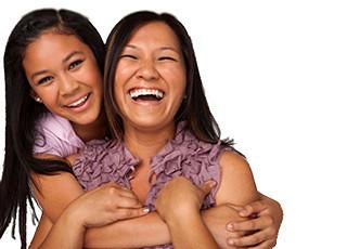 Mother and Daughter Dental Visit