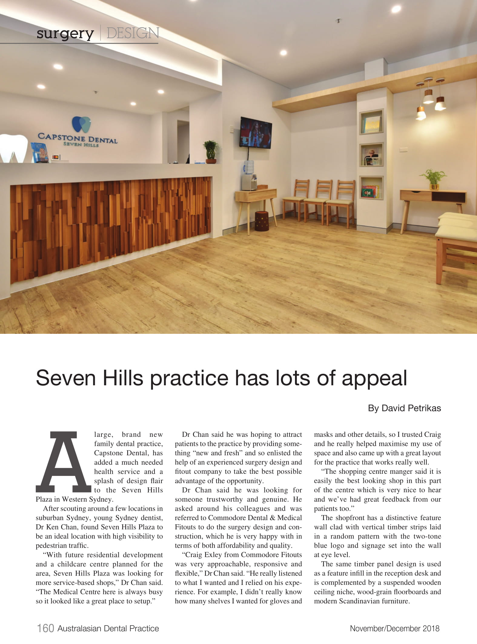 Seven Hills practice has lots of appeal Page 1