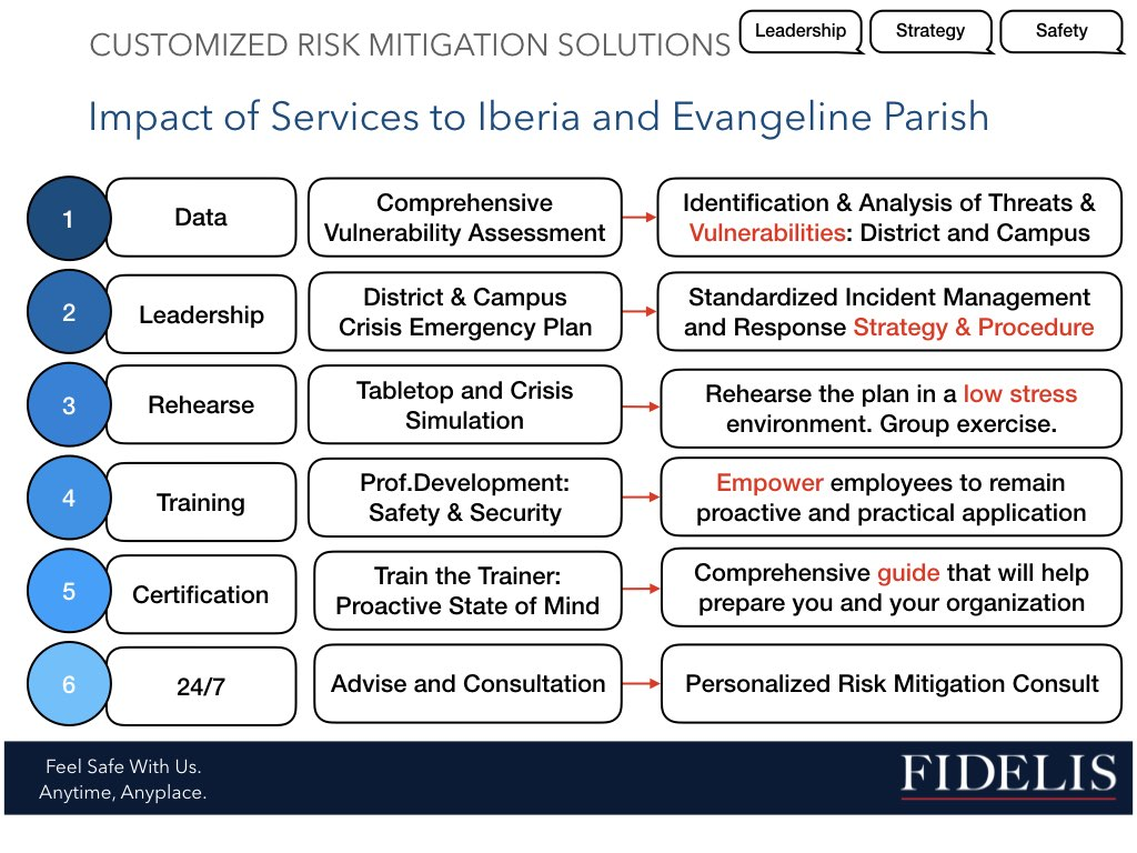 Download our Impact Slide - Fidelis NA, LLC