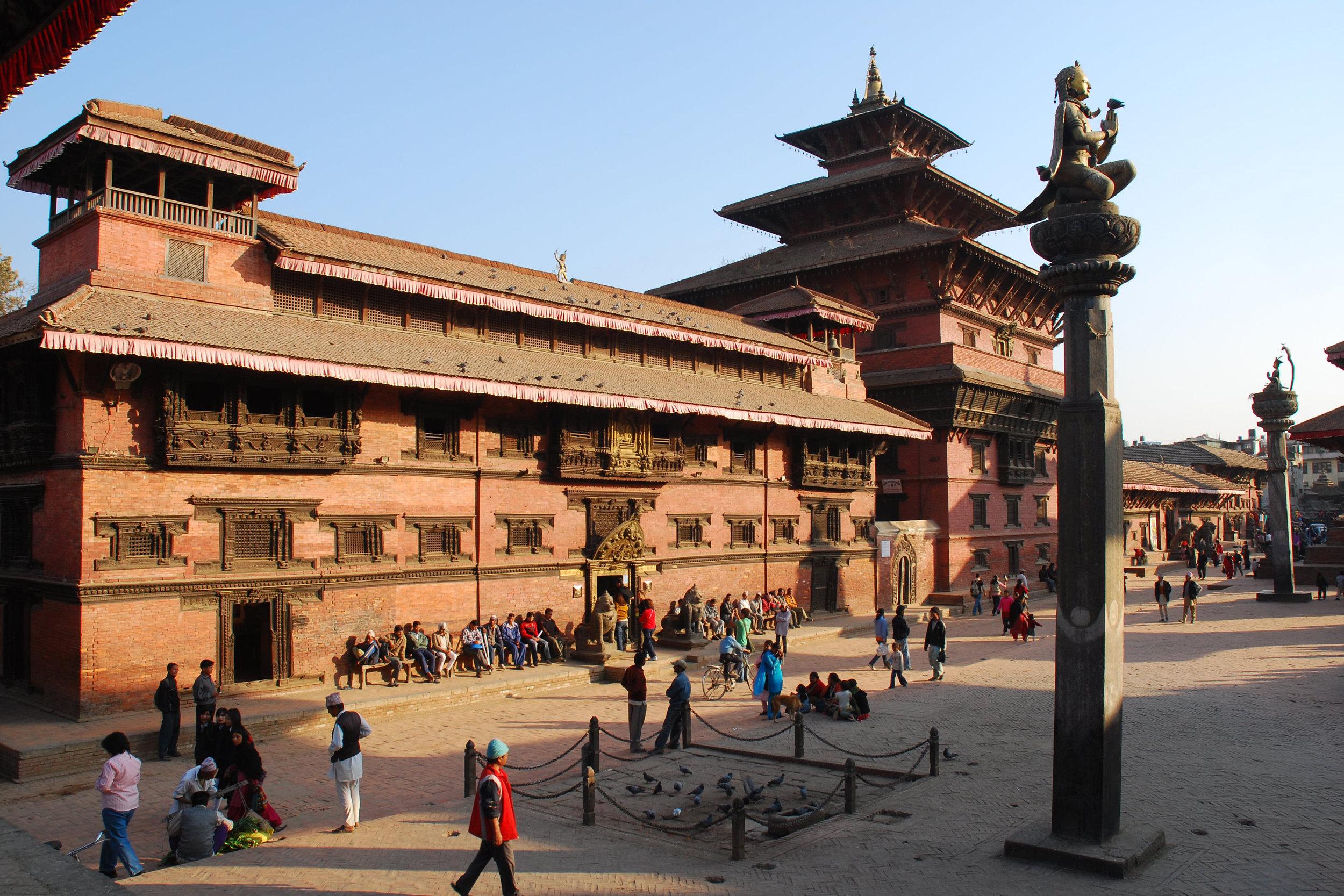 Patan Museum & Taleju temple, Patan Durbar Square-TNB12.jpg
