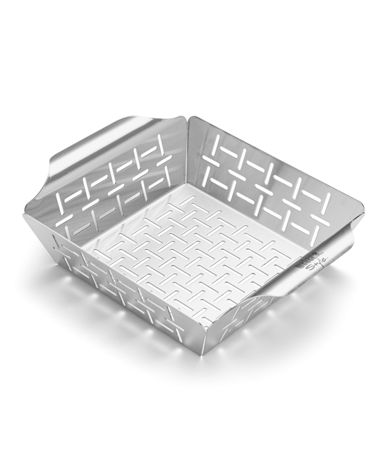 Stainless Steel Grill Basket $34.95