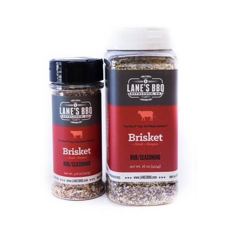 Lanes BBQ Brisket Rub (Small) $12.95